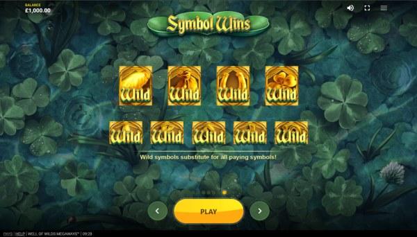 Well of Wilds Megaways screenshot
