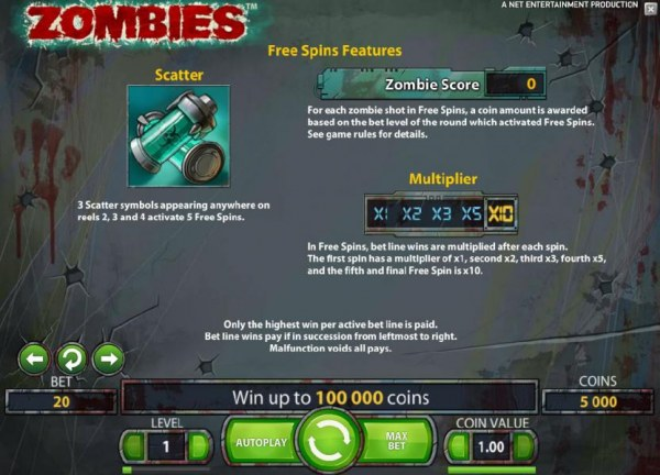 Zombies by Casino Codes