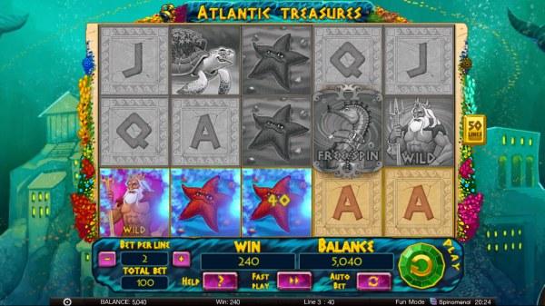 Atlantic Treasures by Casino Codes