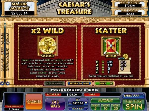 Images of Caesar's Treasure