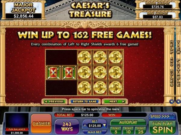 Caesar's Treasure screenshot
