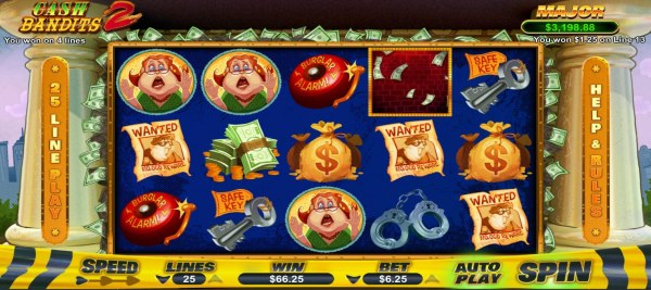A winning Four of a Kind - Casino Codes