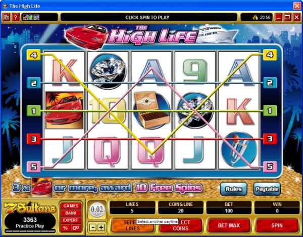 The High Life by Casino Codes