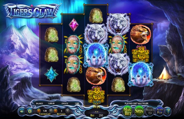 Casino Codes image of Tigers Claw