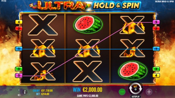 Ultra Hold & Spin by Casino Codes