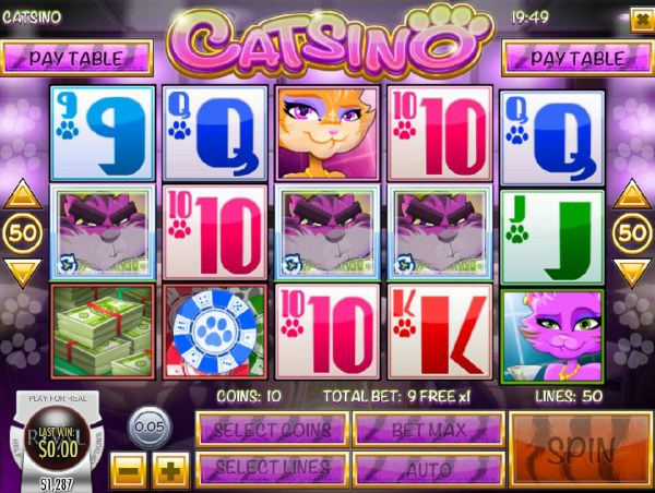 Three scatter symbols trigger the free spins feature. by Casino Codes
