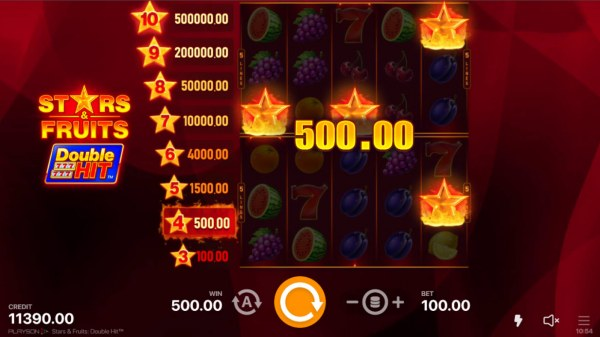 Casino Codes image of Stars & Fruits Double Hit