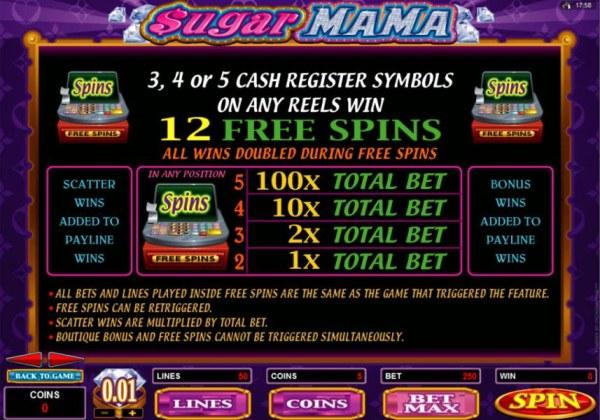 Sugar Mama screenshot