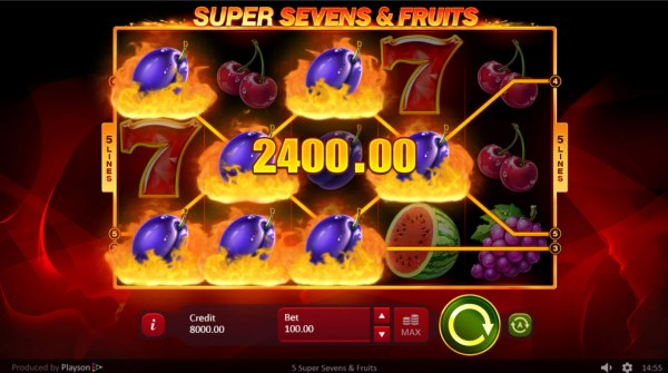 Super Sevens & Fruits by Casino Codes