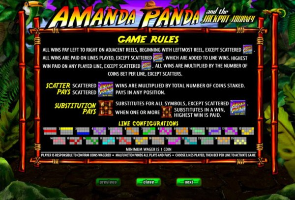 General Game Rules by Casino Codes