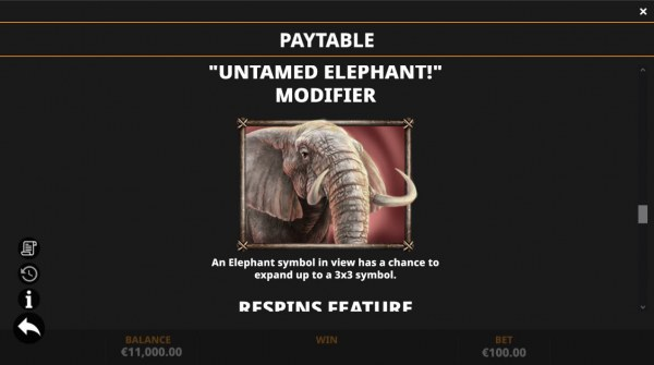 Untamed Elephant Modifier by Casino Codes