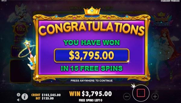 Casino Codes image of Starlight Princess