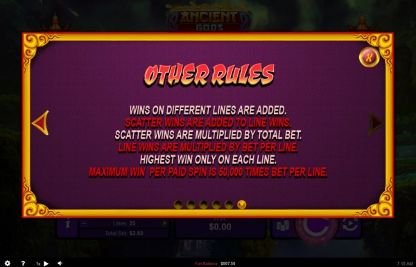 General Game Rules - Casino Codes