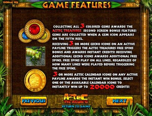 Aztec Treasure by Casino Codes