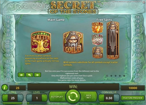 Casino Codes - scatter and wild symbols game rules