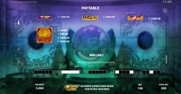 Casino Codes - Wild Symbol Rules