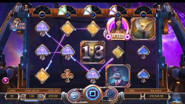 Cazino Cosmos screenshot