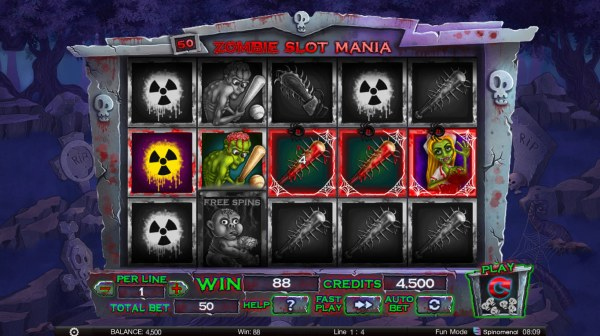 Images of Zombie Slot Mania