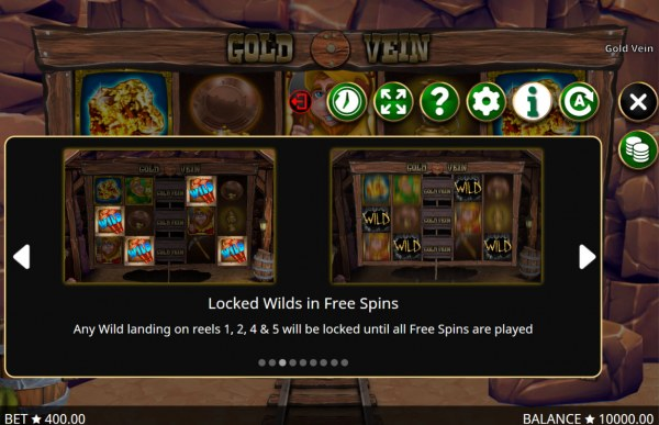 Casino Codes image of Gold Vein