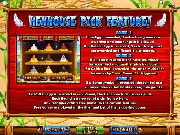 Hen House screenshot
