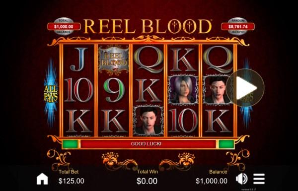 Casino Codes image of Reel Blood