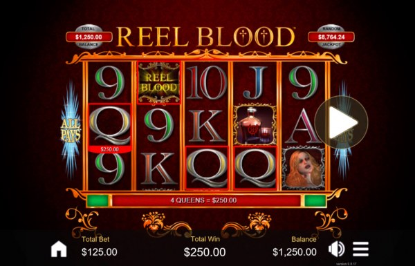Reel Blood by Casino Codes