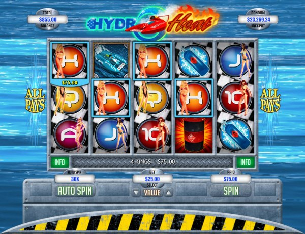 Casino Codes image of Hydro Heat