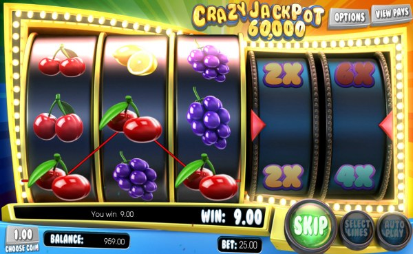 Crazy Jackpot 60,000 by Casino Codes