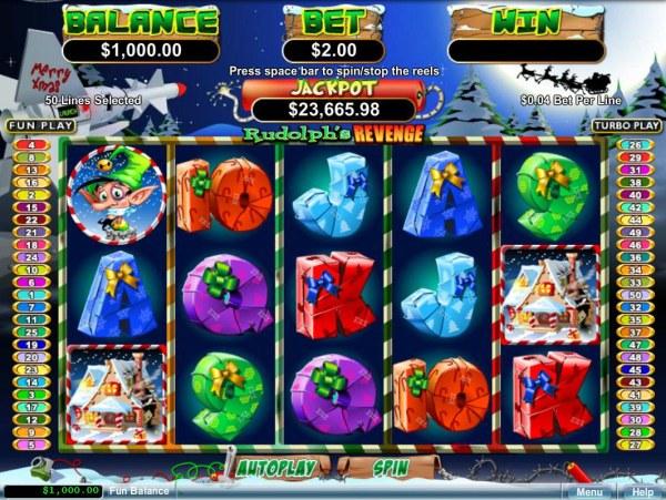 Rudolph's Revenge screenshot