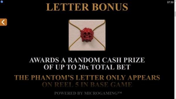 Letter Bonus - Casino Codes