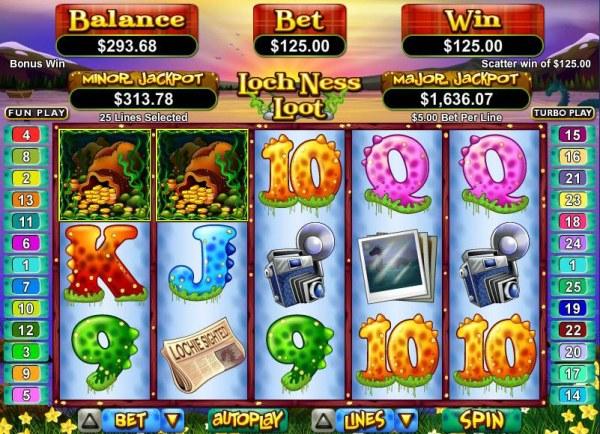 Casino Codes image of Loch Ness Loot