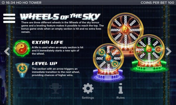 Casino Codes - Wheelw of the Sky Rules