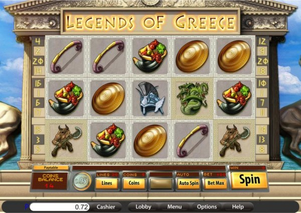 Legends of Greece by Casino Codes