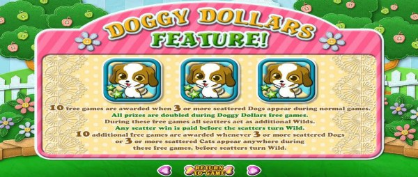 Doggy Dollars Feature Rules - Casino Codes