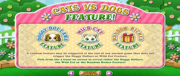 Cat Vs Dog Feature Rules by Casino Codes