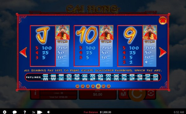 Low Value Symbols by Casino Codes