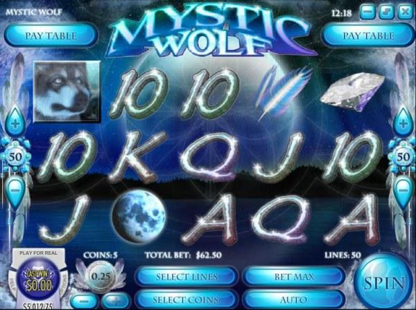 Casino Codes image of Mystic Wolf