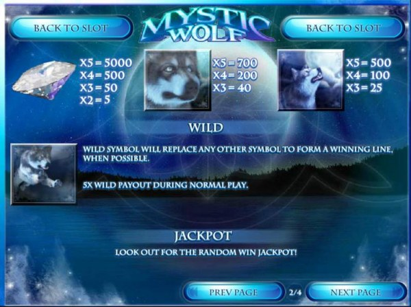 Mystic Wolf by Casino Codes