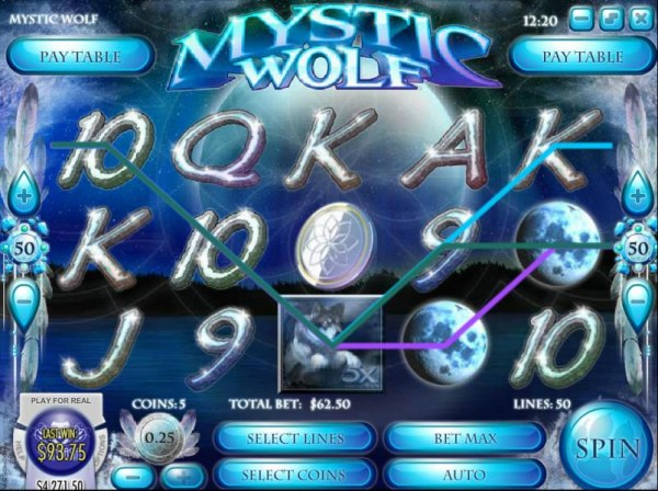 Multiple winning paylines with a 5x wild multiplier by Casino Codes
