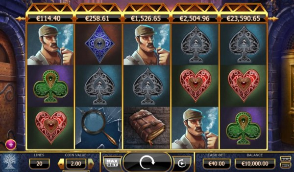 Holmes and the Stolen Stones by Casino Codes