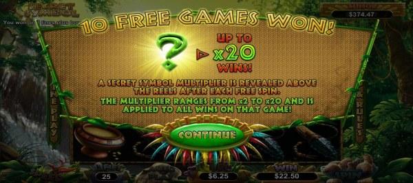 Casino Codes image of Secret Symbol