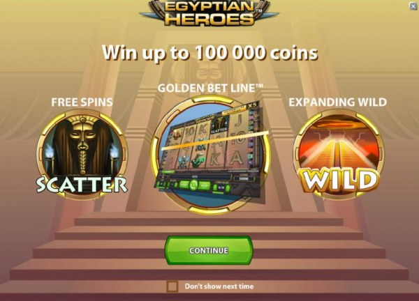 Egyptian Heroes by Casino Codes