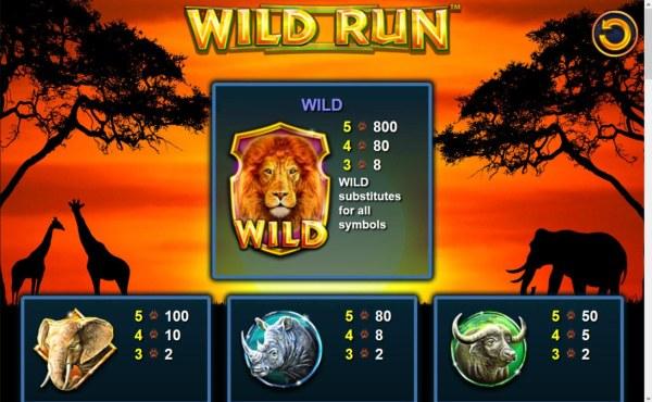 High value slot game symbols paytable. - Casino Codes