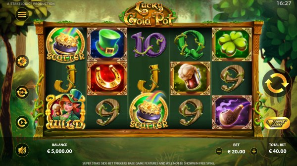 Lucky Gold Pot by Casino Codes