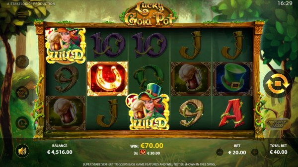 Casino Codes image of Lucky Gold Pot