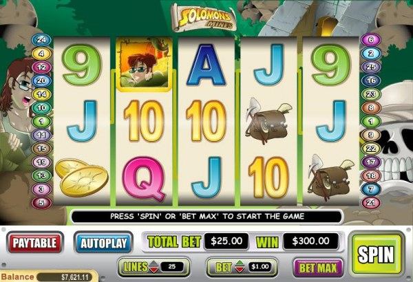 Solomons Mines by Casino Codes