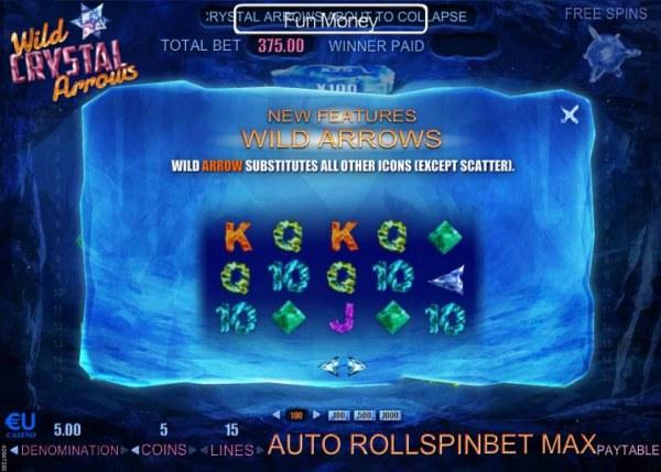 Wild Crystal Arrows screenshot
