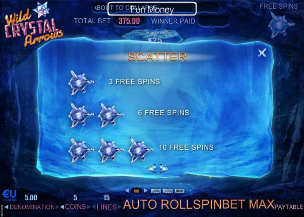 Scatter Paytable - Free Spins - Casino Codes