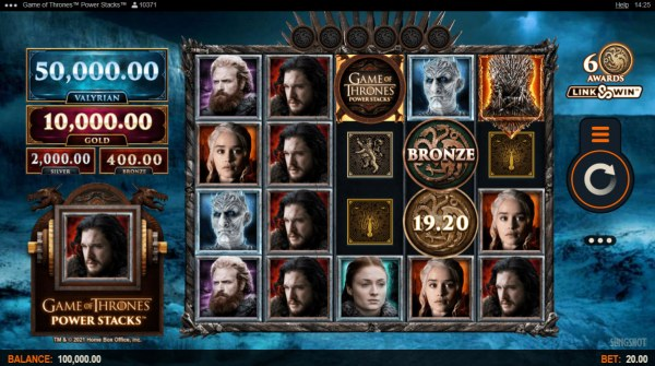 Game of Thrones Power Stacks by Casino Codes