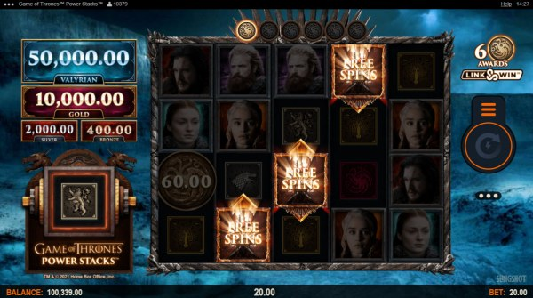 Casino Codes image of Game of Thrones Power Stacks